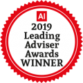 Leading Advisor 2019 Award Winner Logo